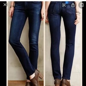 AG jeans 28 Stevie Straight Stretch Anthropologie